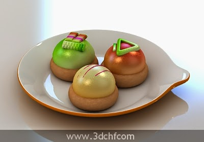 cookies 3d model free