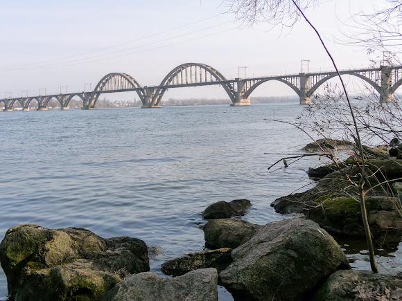Дніпро. Мерефо-Херсонський міст