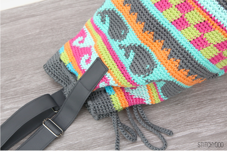 Stitchydoo Taschen Crochetalong Meine Gehäkelte Tapestry Tasche