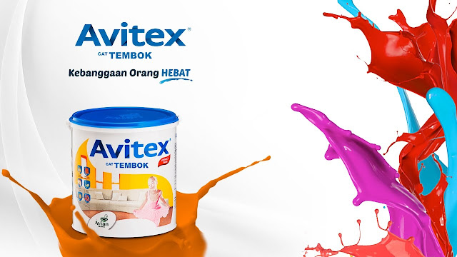 Cat Tembok Avitex