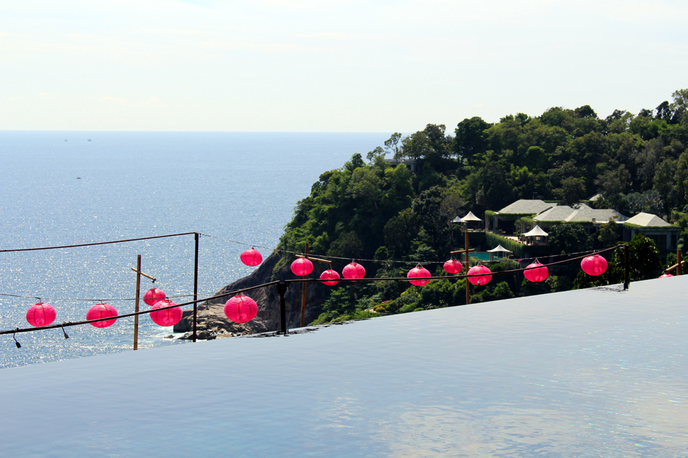 Infinity pool at Paresa Phuket, Thailand | travel blog
