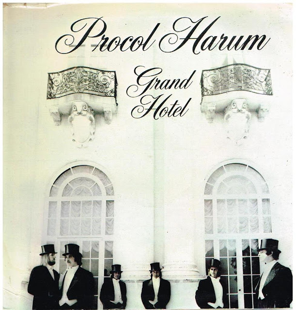 procol harum, grand hotel, best albums, best album covers, greatest album covers, les plus belles pochettes de disques, rock progressif