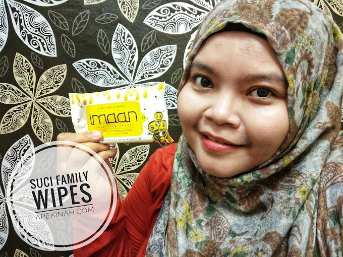 Suci Family Wipes |  Kegunaan Untuk Seisi Keluarga