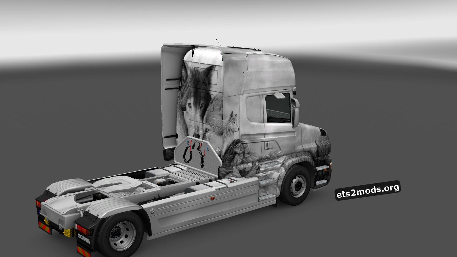 Wolves Skin for Scania T Longline