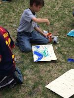 Teach Outside - Art