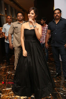 Telugu Anchor Actress Anasuya Bharadwa Stills in Strap Less Black Long Dress at Winner Pre Release Function  0044.jpg