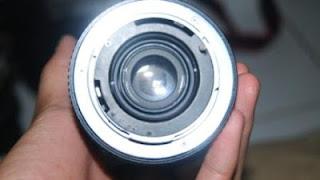 Lensa Yashica 28-80mm belakang