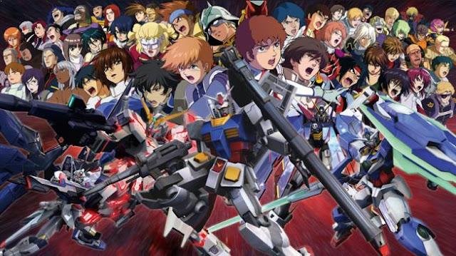 Gundam Series - Top Best War Anime List (From Medieval, Modern to Future War)