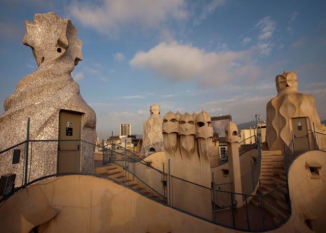 História de La Pedrera (Casa Milá) em Barcelona
