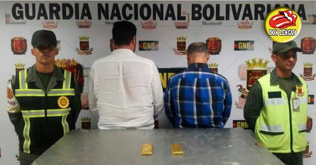 Capturados cuando pretendían viajar a Madrid con 3 kilos de oro venezolano