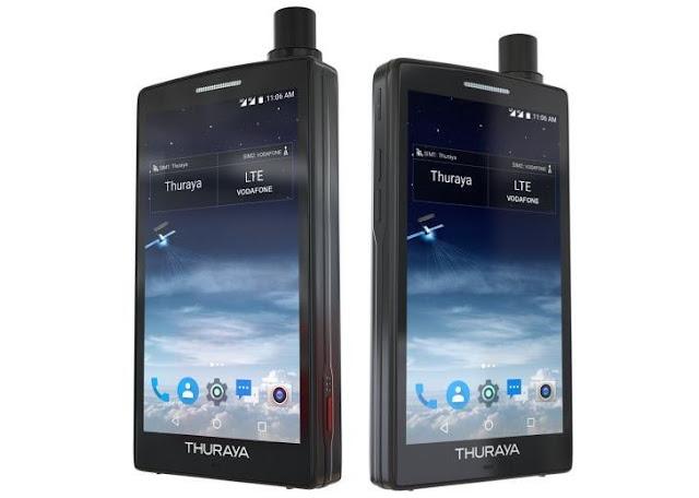 Thuraya X5-Touch, Smartphone Satelit Berbasis Android Pertama Di Dunia