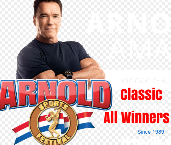 Arnold Classic, Sports Festival, past, champions, Winners, by year, List.