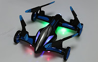 JJRC H23 quadcopter flying Car