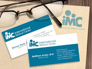 Card visit bác sĩ