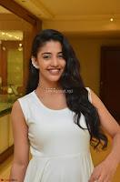 Daksha Nagarkar Cute Beauty in Sleeveless White Dress at Khwaaish Exhibition Launch 2017 ~  Exclusive 046.JPG