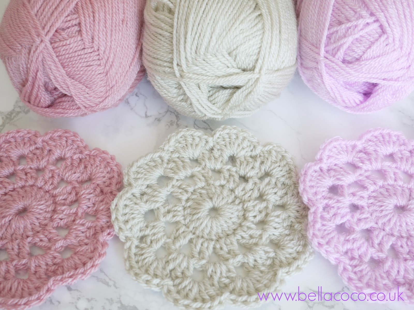 Diagram Crochet Coaster Land Rover Discovery 3 Headlight Wiring Coasters Pattern Free And Video Tutorial
