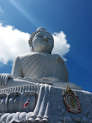 Photo of the big buddha on Phuket Island, Thailand