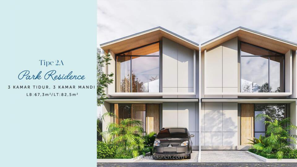 Rumah Waterfront Estate Cikarang Tipe 2A Park Residence