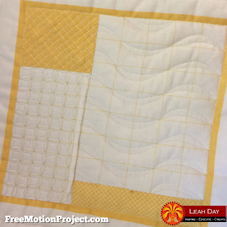 machine quilting grid designs