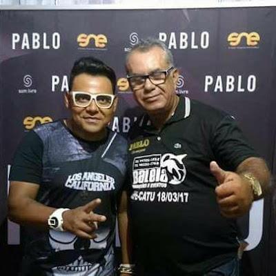 'A voz romântica do Arrocha', Pablo é presença garantida domingo nos 15 anos do Baleia, em Catu; veja o vídeo