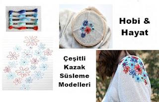 Kazak Süsleme - Hobi Moda 3