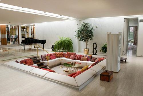 cara menata ruang tamu yang sempit