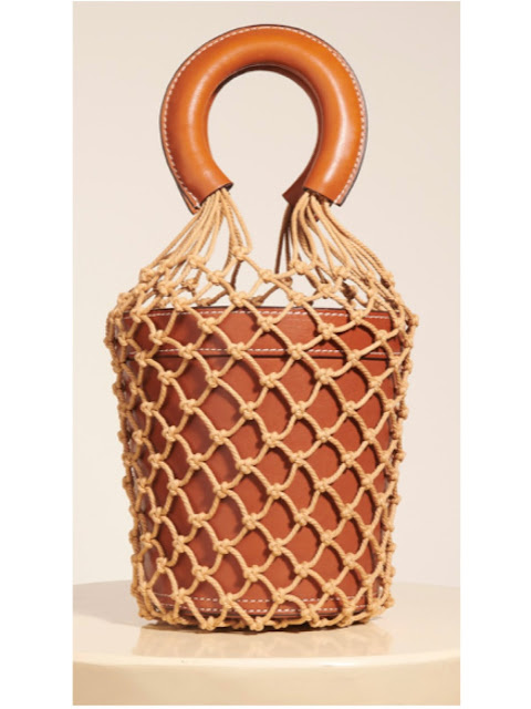 The Staud Moreau bucket bag