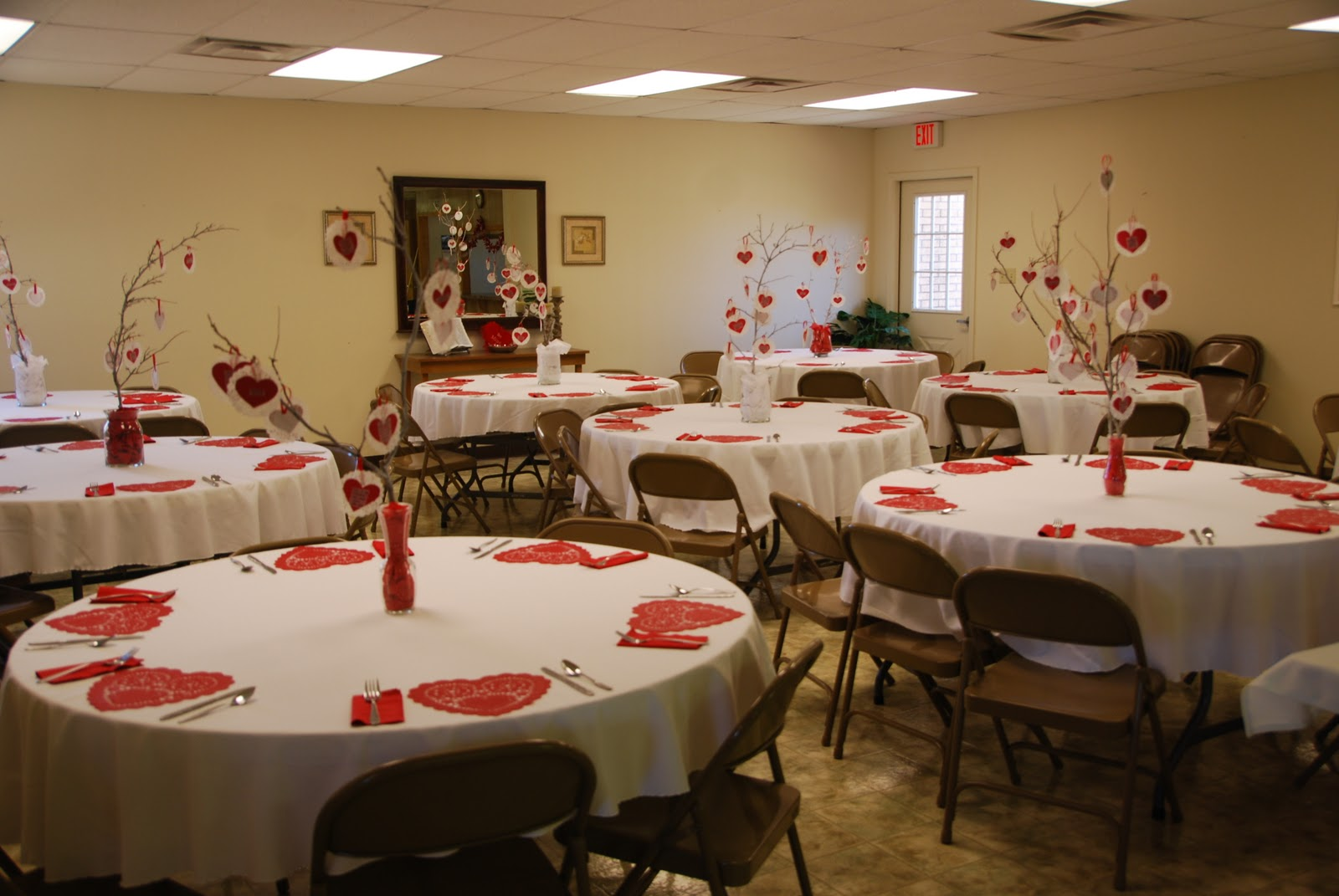 Valentines Banquets  For The Young And Old And InBetween. 1600 x 1071.Valentine's Day Ideas For Couples At Church