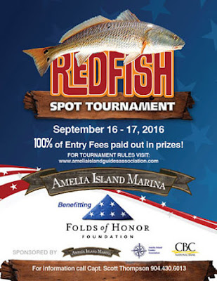 2016 Amelia Island Redfish Spot Tournament