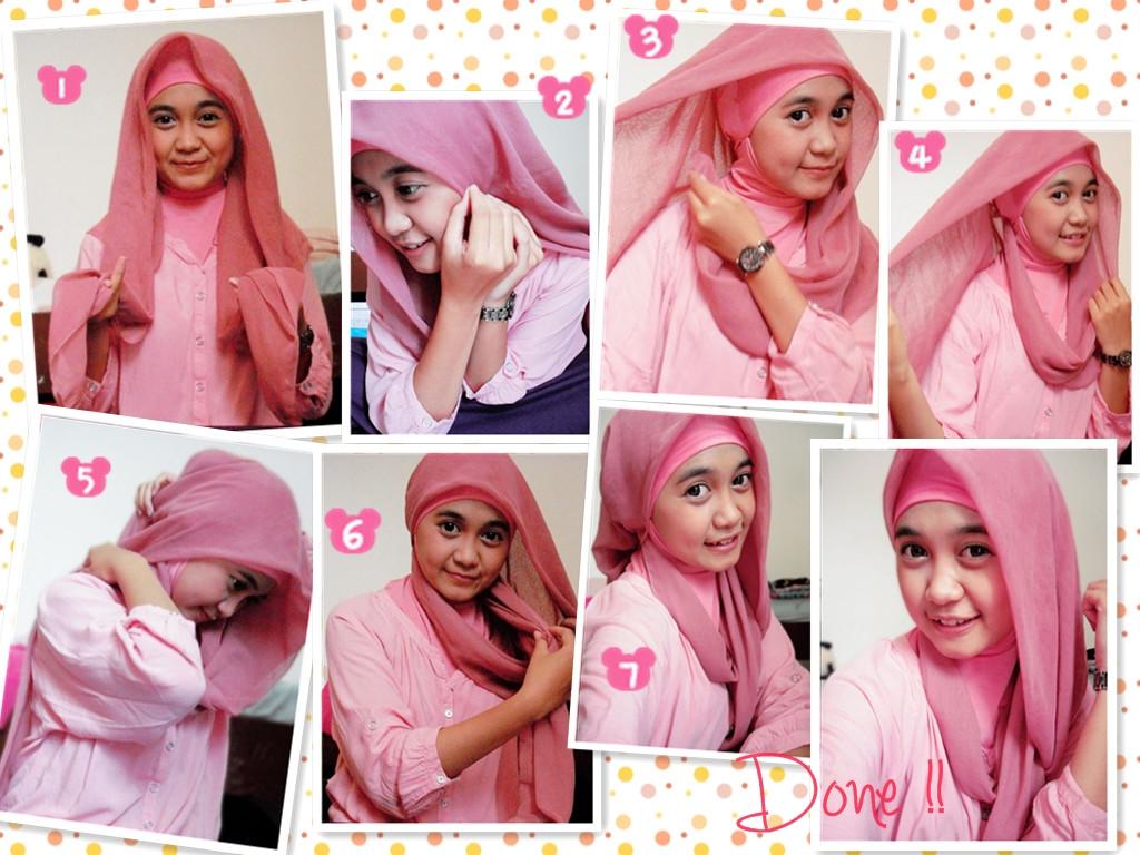 Cara Memakai Jilbab Pashmina Wajah Bulat Tips Cantik
