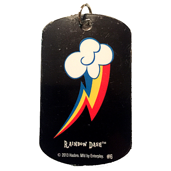 Mlp Rainbow Dash Dog Tags Mlp Merch