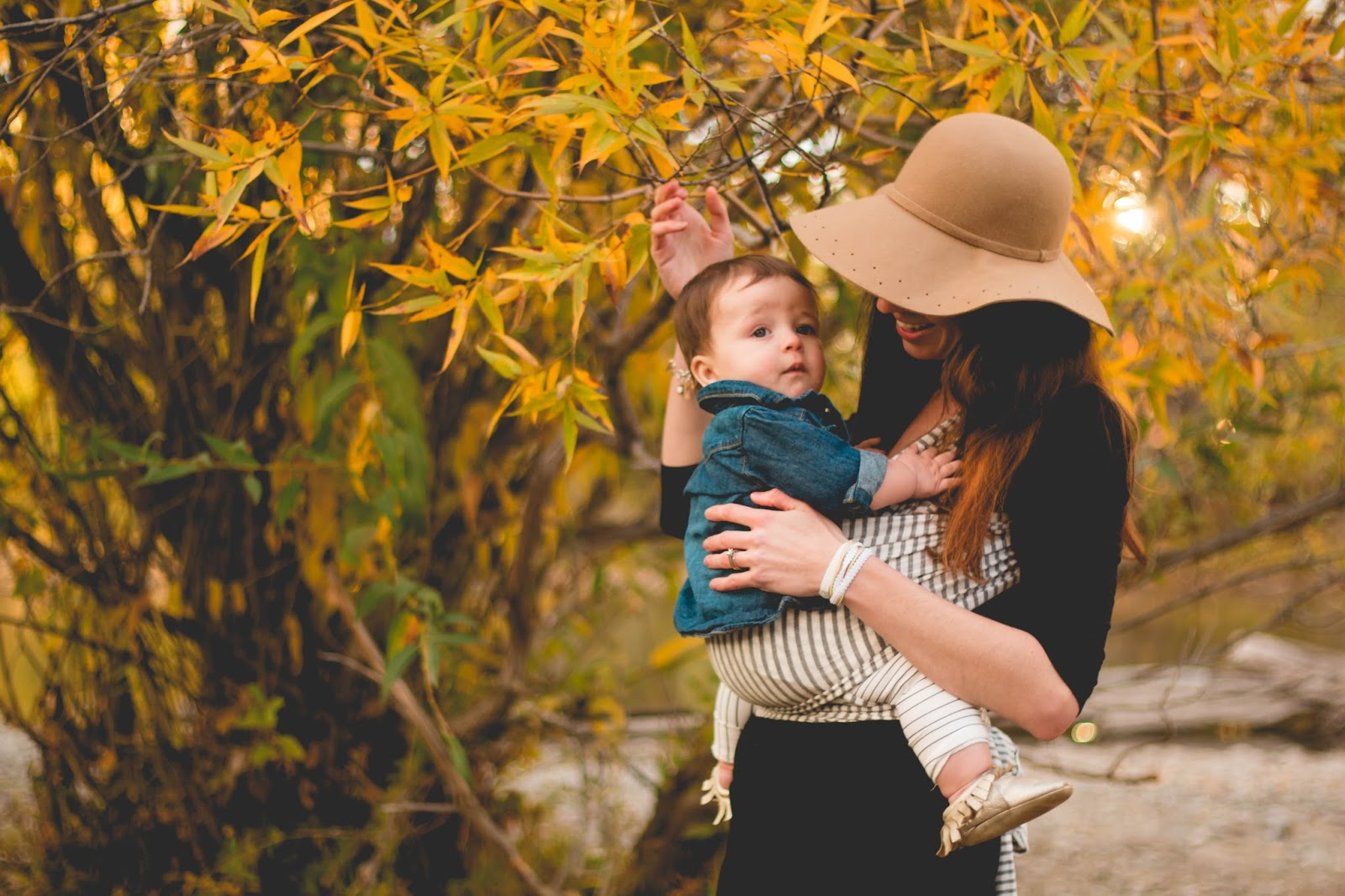 Fall Babywearing Photoshoot Much Most Darling