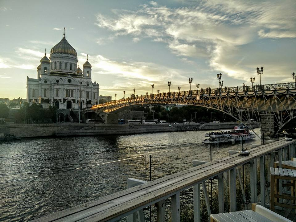 Russie Moscou Moscow Cathédrale du Christ Sauveur