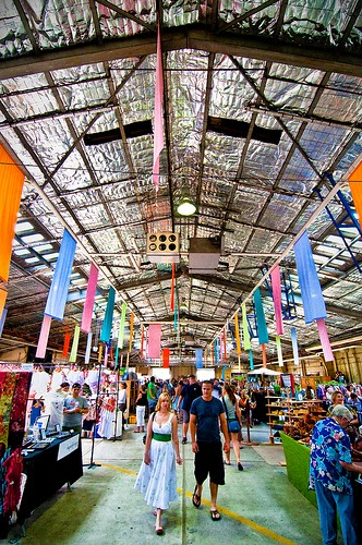 Old Bus Depot Markets, Canberra  -10 Beautiful Cities in Australia