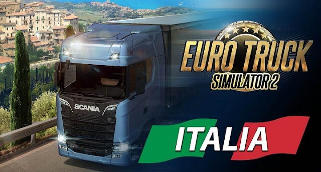 Free Download Euro Truck Simulator 2: Italia PC Game