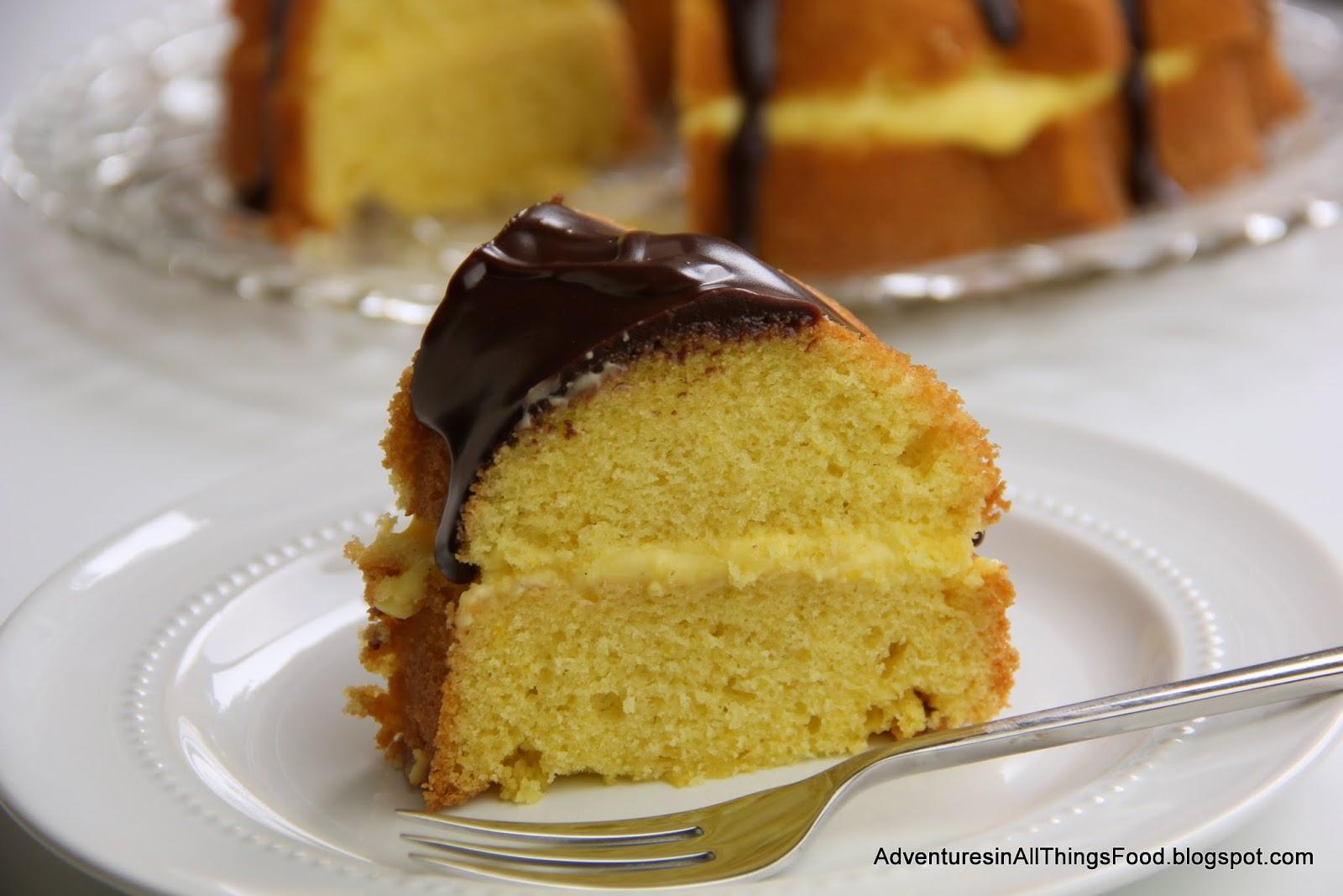 Boston Cream Pie Bundt Cake
