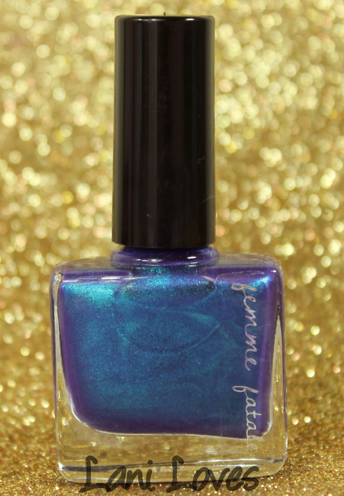 Femme Fatale Cosmetics Under the Waters nail polish swatches & review