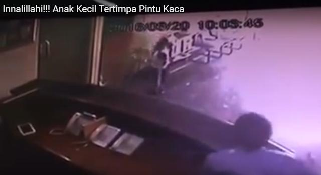 Ribuan Netizen Sebarkan Rekaman CCTV Anak Tertimpa Pintu, Ternyata Videonya Salah