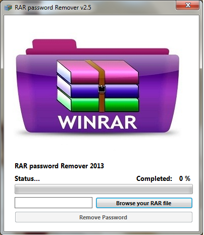 rar password remover full