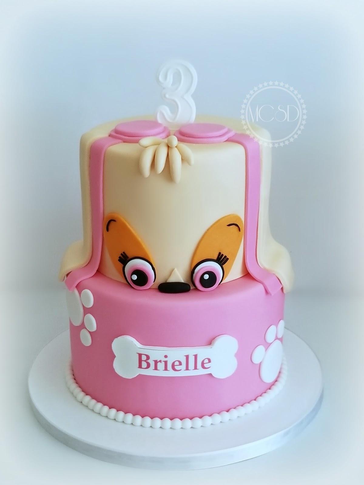 My Cake Sweet Dreams Paw Patrol Skye Cake