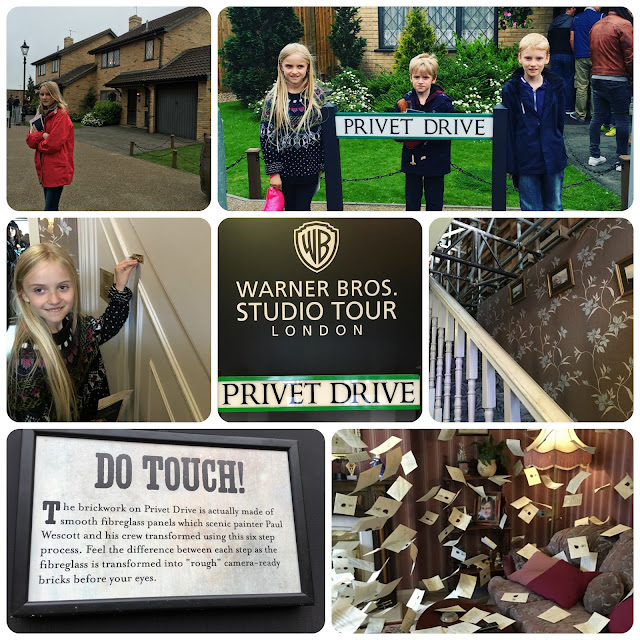Privet Drive Warners Bros Studio Tour London