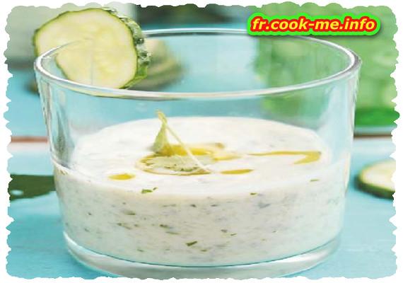 Salade de poulet et tzatziki