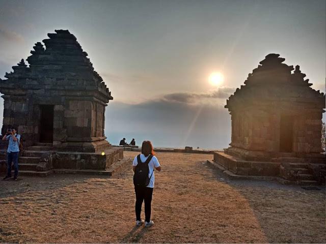 Liburan wisata ke Candi Ijo Yogyakarta | Harga tiket, alamat, foto