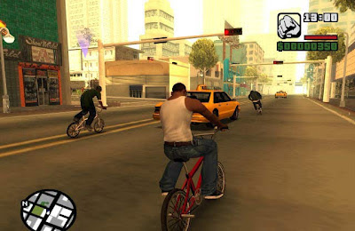 Screenshot of GTA San Andreas