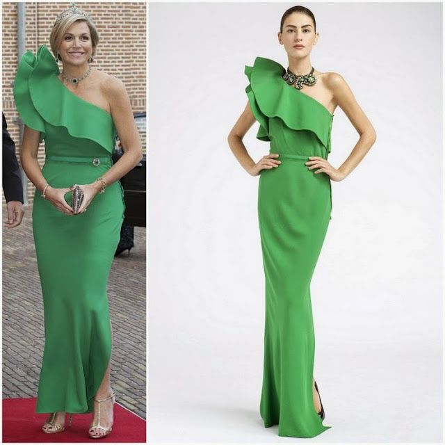 Queen Maxima in Lanvin