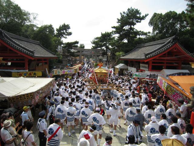 Sumiyoshi Shrine Festival, Sumiyoshi, Osaka