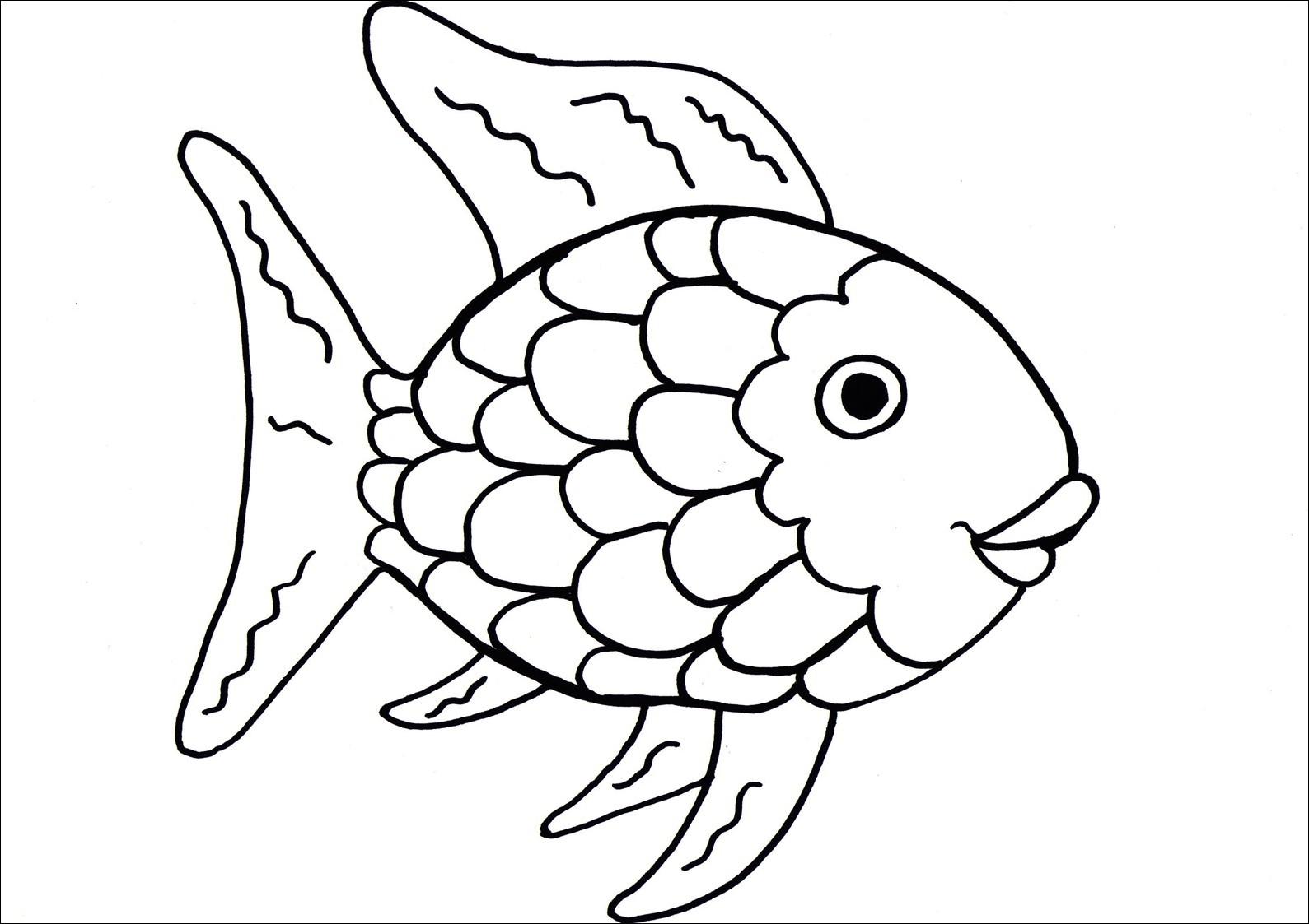 13 mewarnai gambar ikan