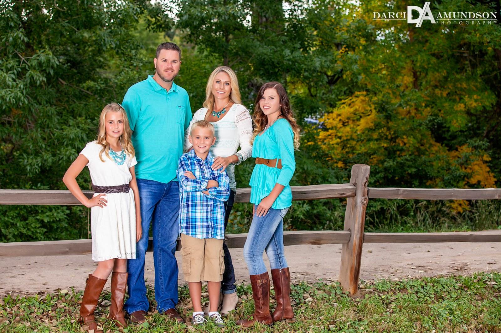 Rohr Family  Denver Fall Family Photographer  Darci Amundson Photography