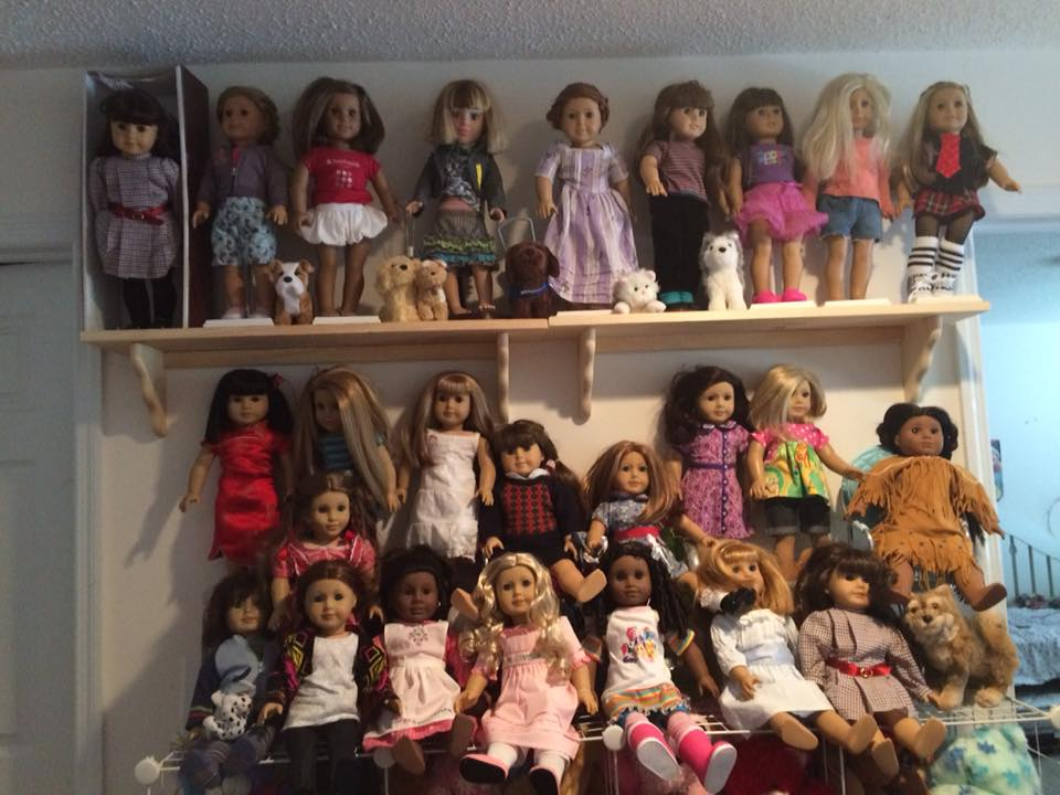 her obsession errr my obsession doll update and yard sale finds