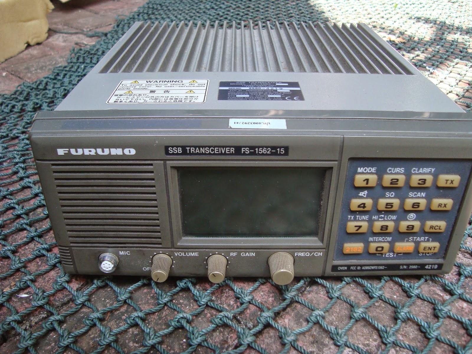 RADIO SELLER: Furuno FS 1562-15 HF Professional Transceiver